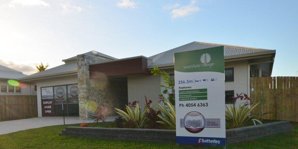 castleton entrance display home