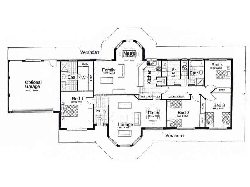 The alice 205 land and house package cairns quality homes for House plans cairns