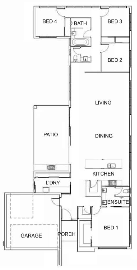 Castleton Entrance - floor-plan