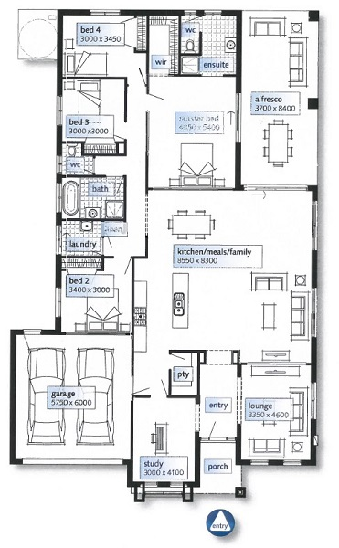 The marriott specialist in new build homes cairns for House plans cairns