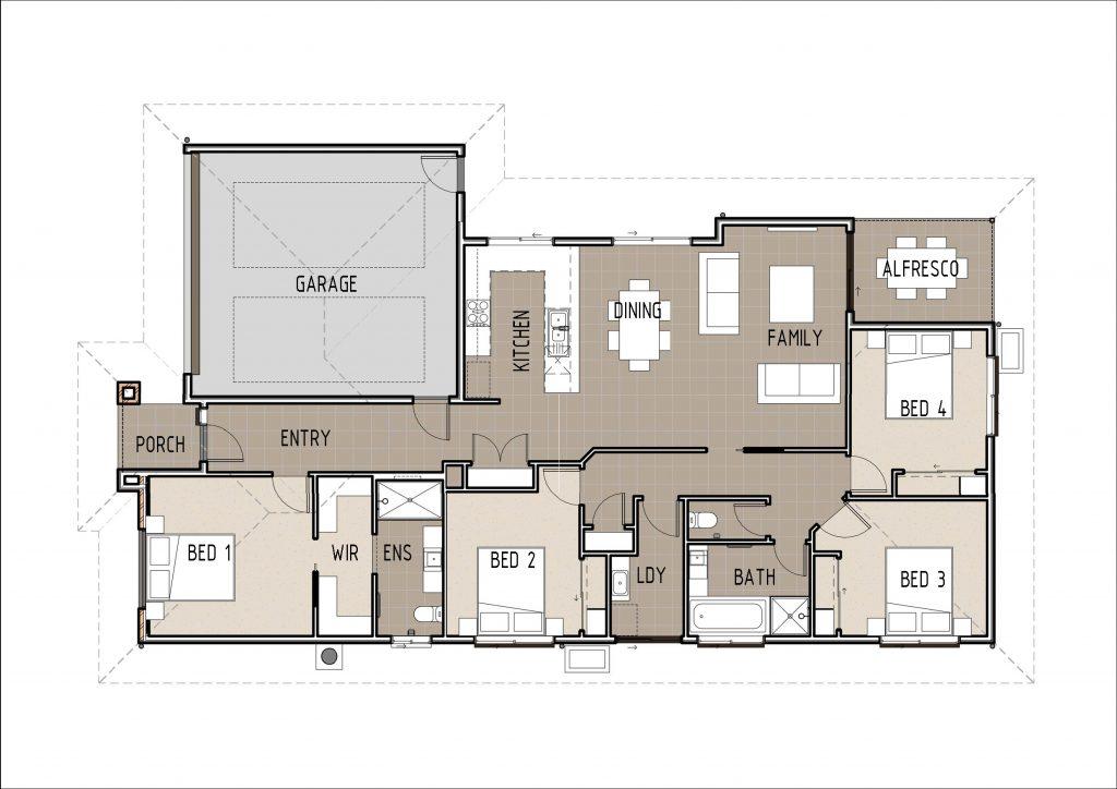 The Tinisha Floor Plan Cairns Quality Homes