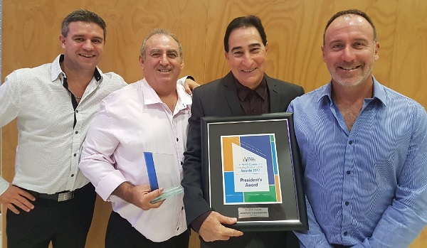 Double win at Master Builders Awards