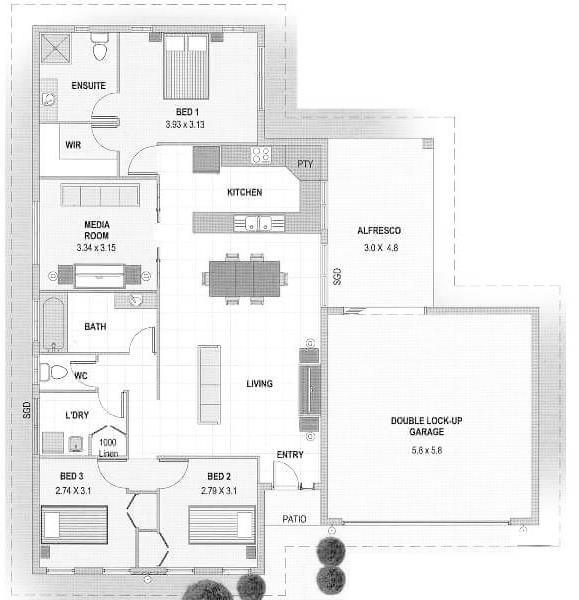 The Heron Floor Plan